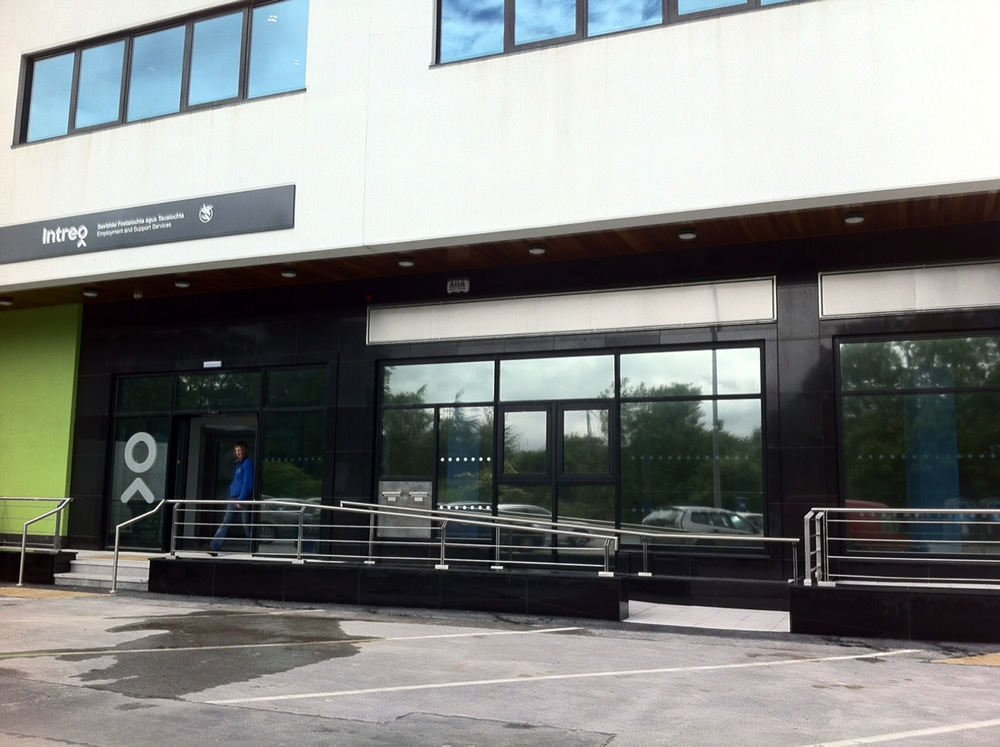 Fit-out of new DSP Offices, Railway House, Loughrea, Co. Galway for OPW