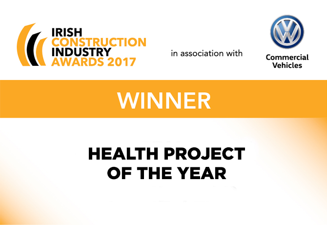 Health Project of the Year Irish Construction Industry Award 2017
