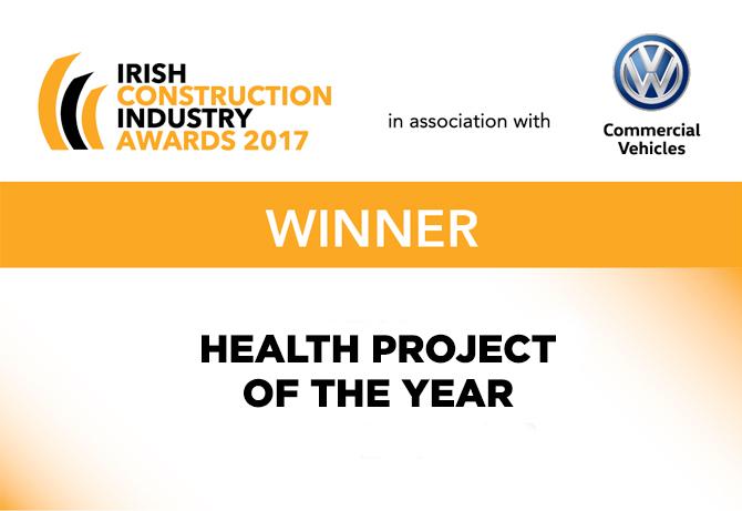 Health Project of the Year Irish Construction Industry Award 2017